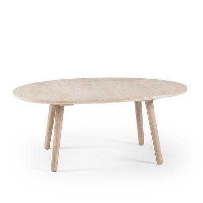 Ray soffbord, vitpigmenterad ek i gruppen Möbler / Bord / Soffbord hos RUM21.se (123581)