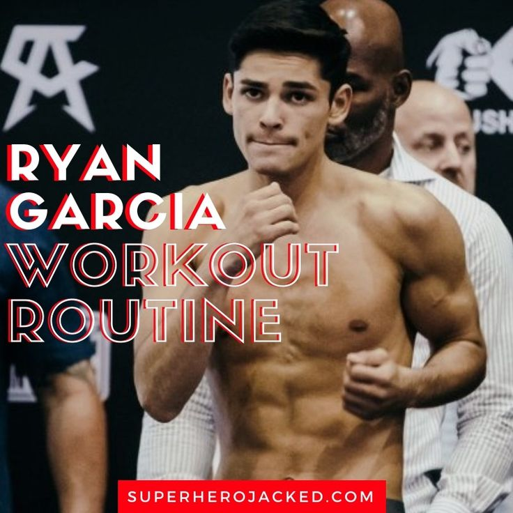 Ryan Garcia Workout Routine and Diet Plan Train like a