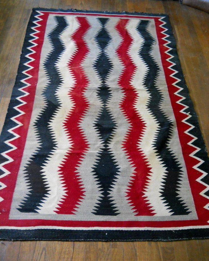 180 Best Mexican Navajo Blanket /Vintage Chimayo Images On