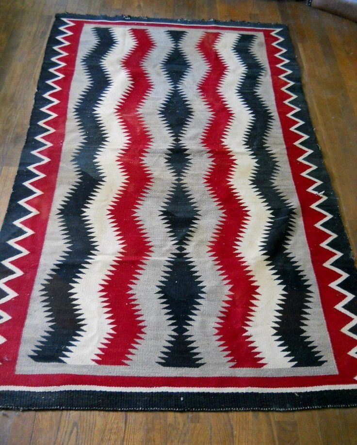 179 Best Images About Mexican Navajo Blanket /Vintage