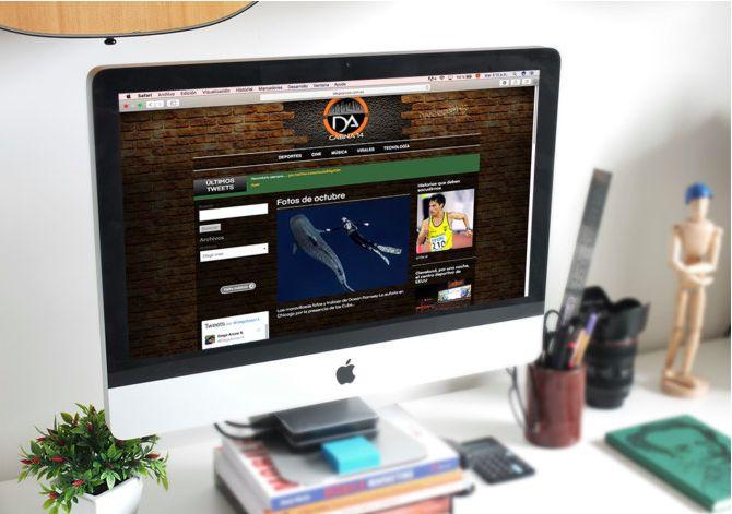 La idea desarrollada para nuestro cliente Diego Arcos fue manejar una página web como un blog personal. El cliente quería que sea un espacio donde pudiera subir sus ideas, opiniones o cualquier artículo, con el propósito de poder compartirlo con sus seguidores y como un aporte a la comunidad.