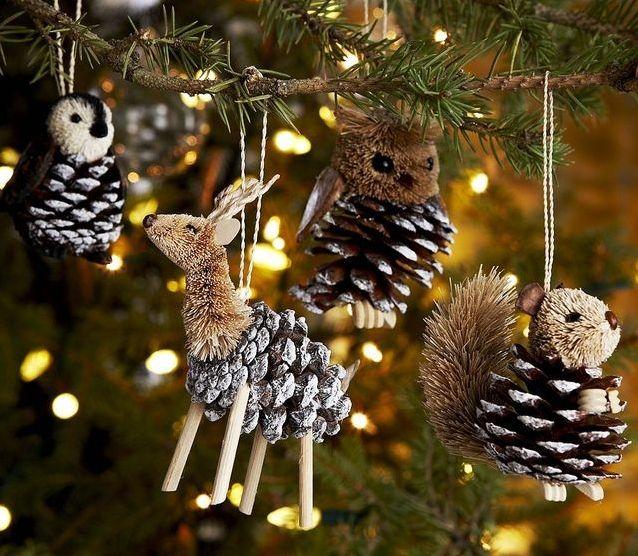 Украшения для новогодней елки 2015 года