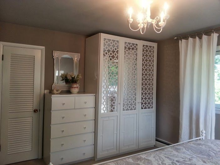 creation mirrored panels for closet fl - Cheap Mirrored Furniture