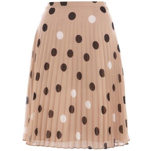 Coast Jayma Pleat Skirt, Neutral (735 MXN) ❤ liked on Polyvore featuring skirts, saias, gonne, bottoms, suknje, women, a-line skirts, beige maxi skirt, beige a line skirt and pleated a line skirt