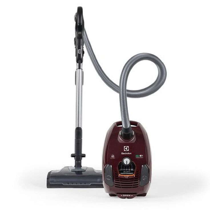 Electrolux Silent Performer Deep Clean Canister Vacuum in Brown, Browns/Tans