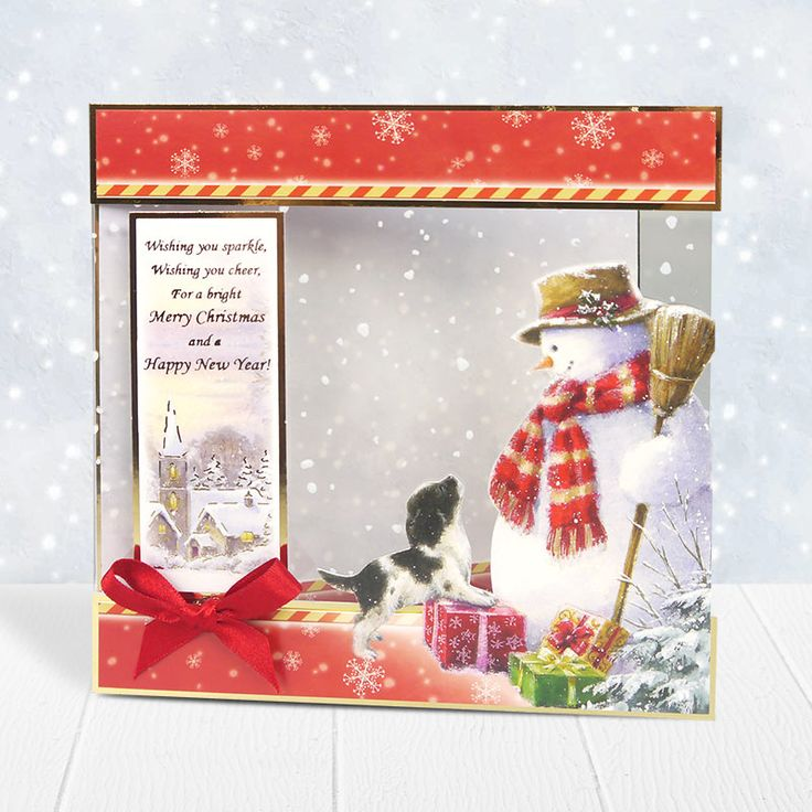 Santa Paws Luxury Topper Set - Snow Cute | Hunkydory Crafts