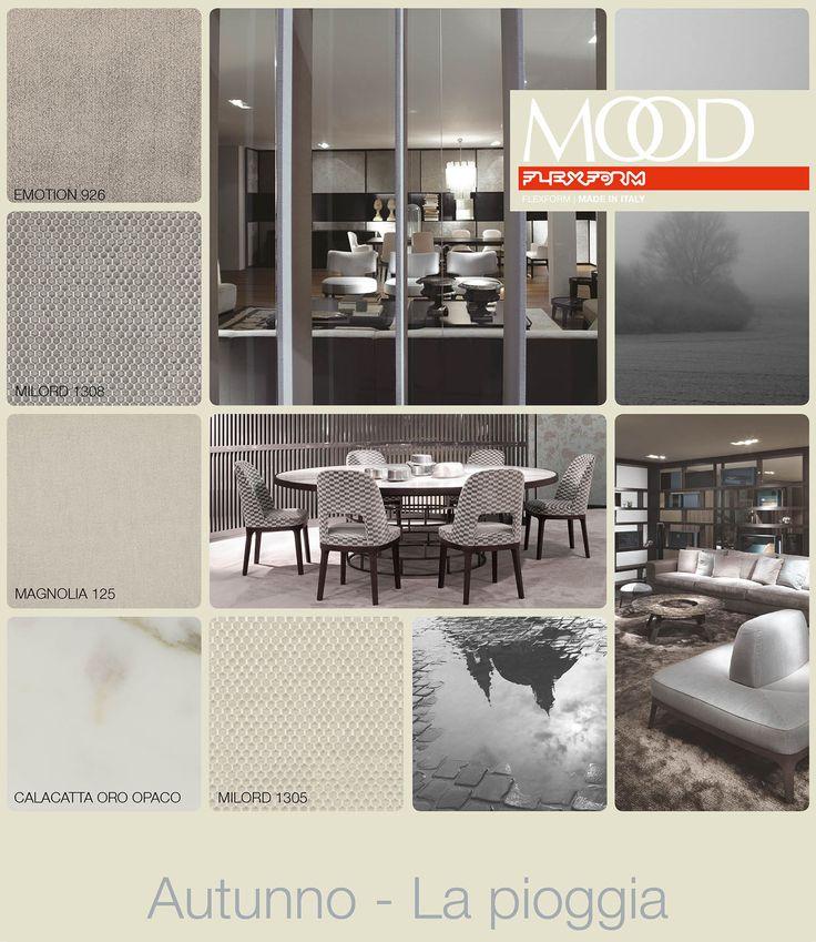 FLEXFORM MOOD | FALL - RAIN #INSPIRATION #colour #materials