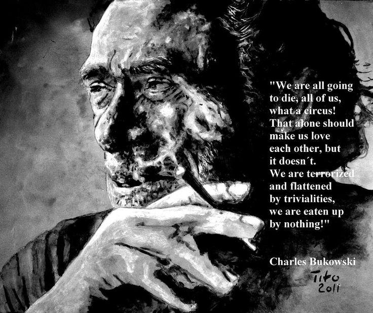 The Rebel: Charles Bukowski mysogynist? | Bodhicitta Rebel