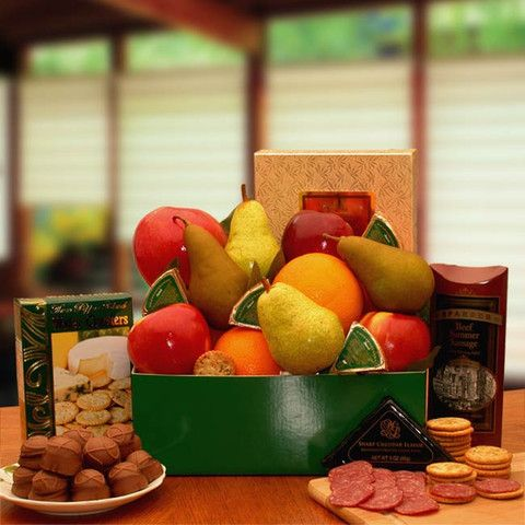 Classic Selections Fruit & Cheese Gift Box