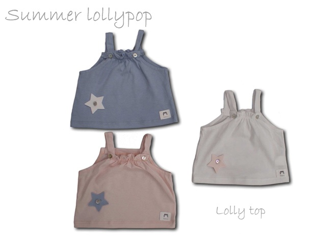 Baby Clothes.Summer Lolly Pop. 100% soft cotton
