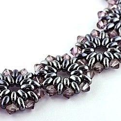 twin beads  swarovski bicones ~ should be able to figure this one out...