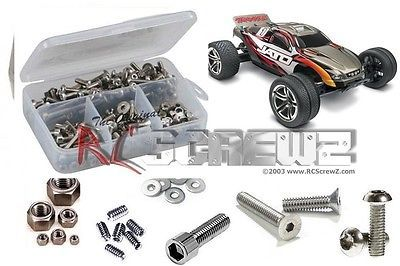 RC Hardware and Fasteners 182211: Rc Screwz Traxxas Jato Stainless Steel Screw Kit Tra014 Rcscrewz -> BUY IT NOW ONLY: $30.99 on eBay!