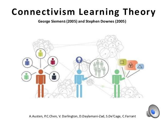 Innovative Classroom Practices In The Light Of Constructivism In ~ Best images about george siemans connectivism theory on