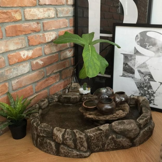 25 best ideas about indoor pond on pinterest goldfish for Indoor koi pond ideas