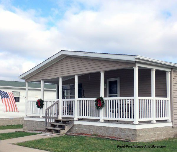Mobile Home Additions: Mobile Home Remodeling Ideas That'll Create Curb Appeal In