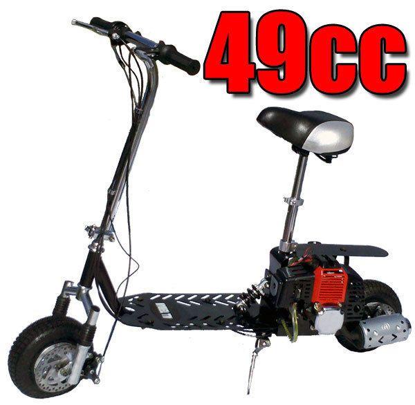Fast 2013 All Terrain 49cc 2 Stroke GAS Motor Scooter dirt bike. 35mph