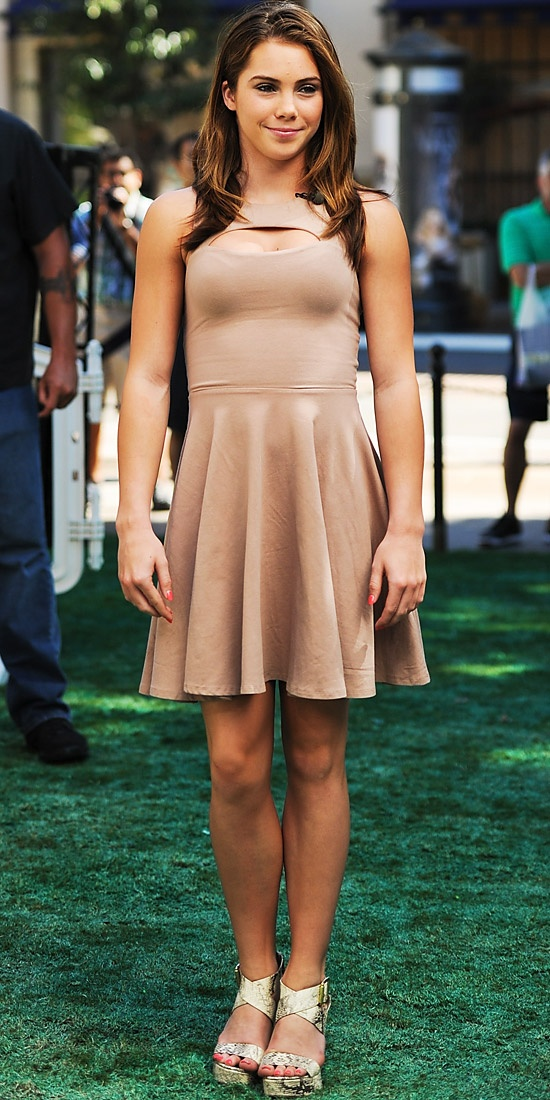 Love this dress!!  McKayla Maroney - Look of the Day - InStyle