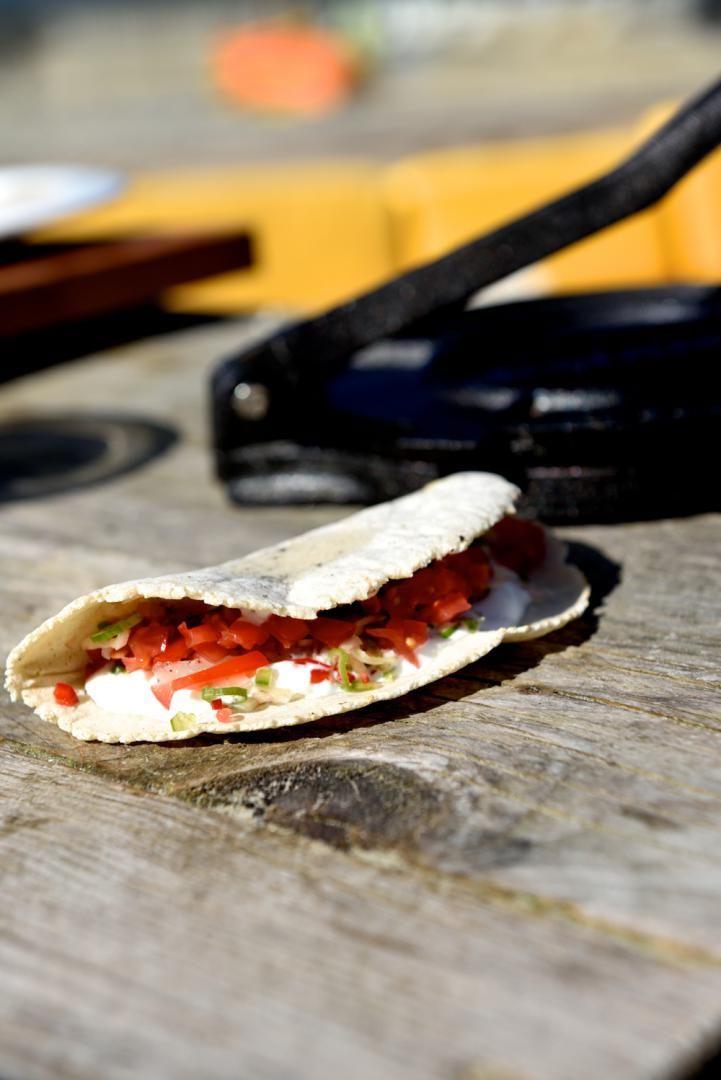 """Het lekkerste recept voor """"Taco met gemarineerde wijting"""" vind je bij njam! Ontdek nu meer dan duizenden smakelijke njam!-recepten voor alledaags kookplezier!"""