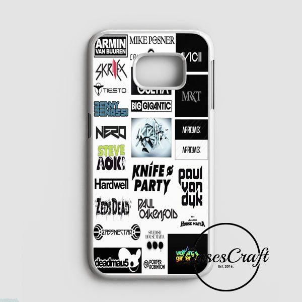Top Dj Collage Samsung Galaxy S7 Case | casescraft