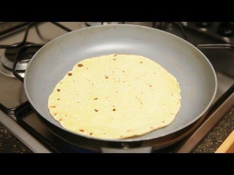 Свежая еда - Мексиканские тортильи - YouTube