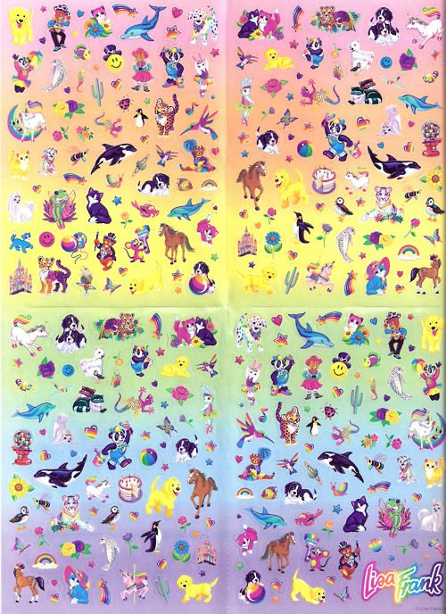 Lisa Frank - i desperately wanted to be a member of the LF club, but my mom wouldn't let me.
