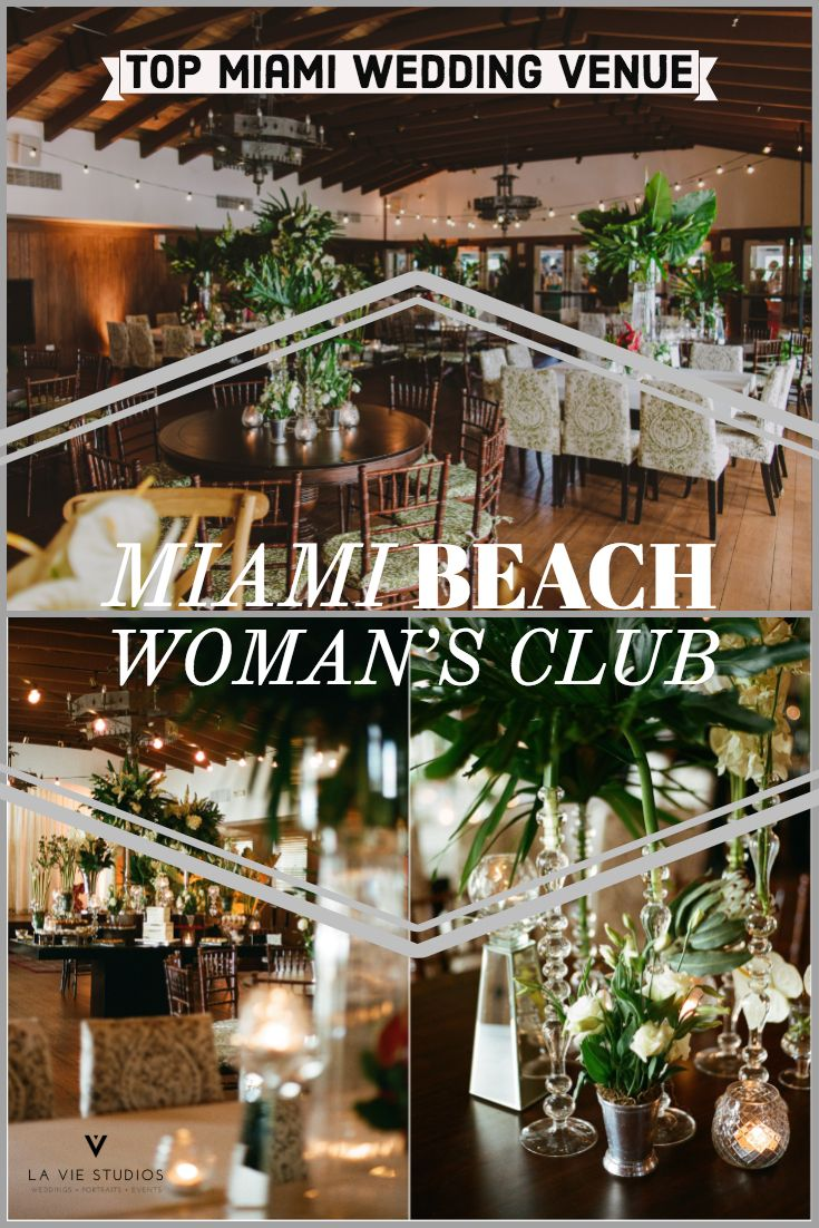 The Miami Beach Woman S Club Is One Of Top Wedding Venues In South Florida Great For Intimate Weddings Looking Old Charm