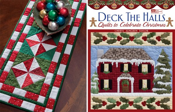 Free Quilt Pattern: Peppermint Candy Table Runner - I Sew ...