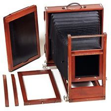 11x14 View Camera (Gundlach Manhattan Korona ?) Large Format,Wood Antique VTG EX