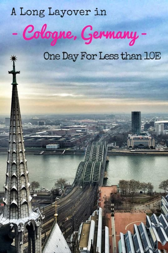 Long layover? Don't sit at the airport! Here's how to get around Cologne for less than 10 euro