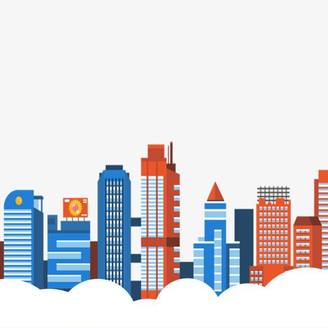 City Building City Buildings Cartoon Posters City