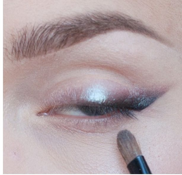 Smoked out macs blue brown pigment, dupe of this shadow in the wet n wild comfort zone palette!