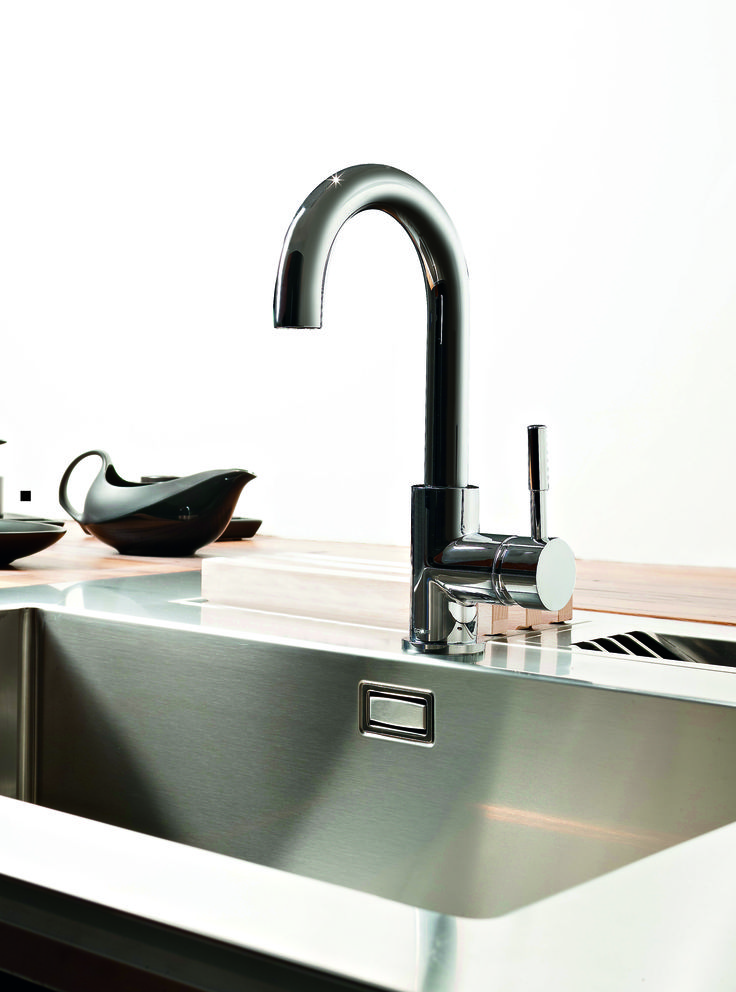 The Perfeque Bar Faucet Fits Just Right In A Smaller Bar Sink.