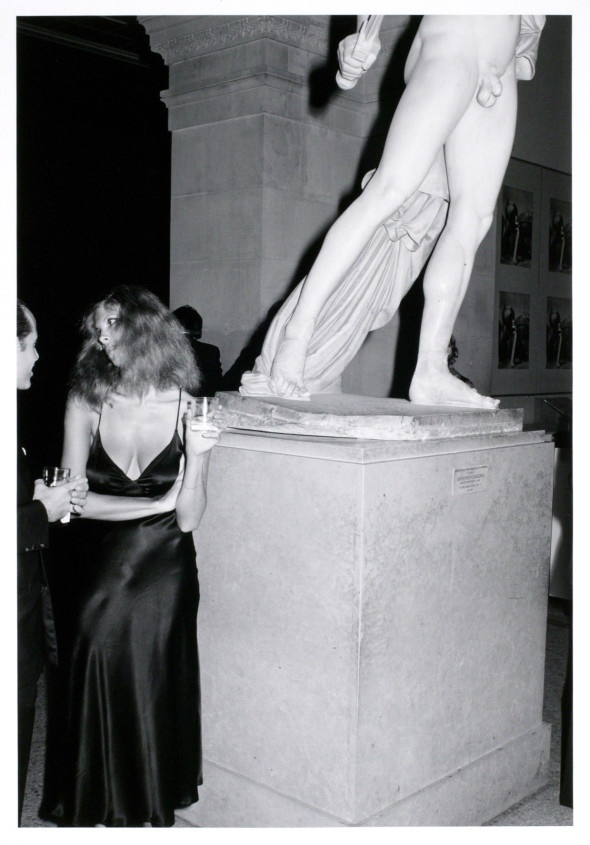 Metropolitan Museum of Art Opening, 1977, by Tod Papageorge.