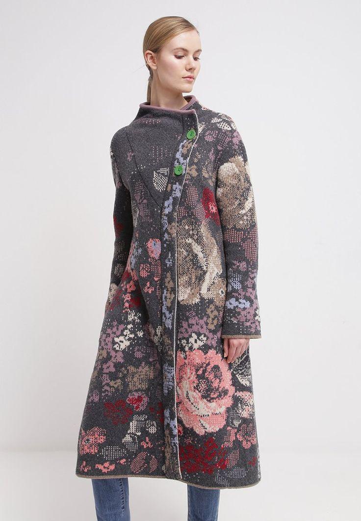 Ivko Knit Coat boho inspiration to add needle felt details to your old winter coat