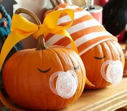 Fall Baby Shower Decorations | Very cute idea for a fall baby shower!!!