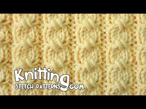 How to: Cross-Stitch Cable - Mock Cable Stitch | Knitting Stitch Patterns