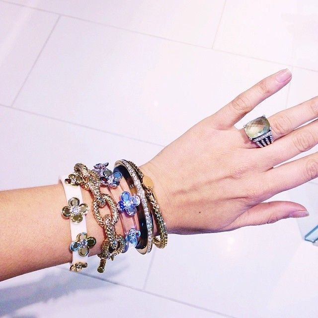 Obsessed with my arm candy at karen_millen #mycitymystyle