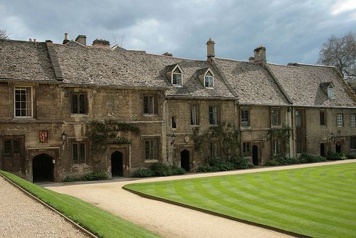 inside worcester college - Oxford