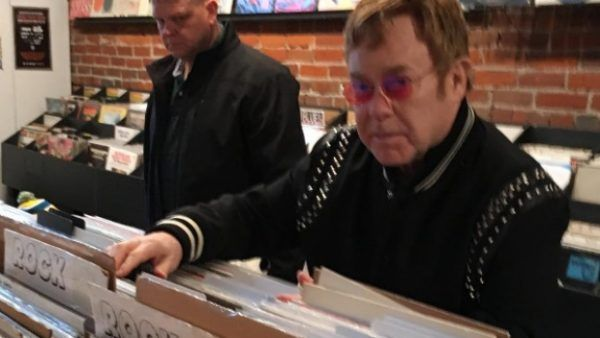 Elton John walks into a Vancouver records store and asks Do you have any Tech N9ne records?