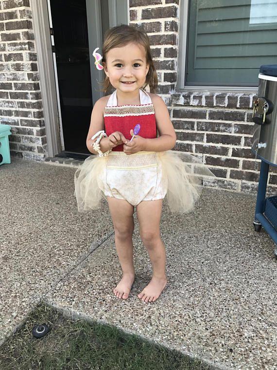 5a81e4d9259 Moana Romper moana dress moana costume disney princess Moana cake smash  outfit Moana toddler costume