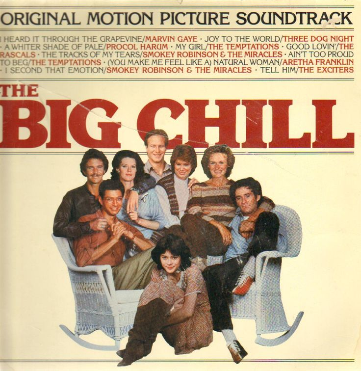 "[Movies as Cinematherapy]  ""The Big Chill"" CLICK TO VIEW TRAILER 1983 Tom Berenger  Sam Weber  Glenn Close   Jeff Goldblum 		  William Hurt  Kevin Kline 	  Mary Kay Place 	  Meg Tilly  JoBeth Williiams"
