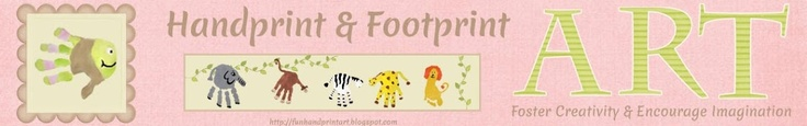 Handprint and Footprint Art : Back to School with The Kissing Hand {Round-up}