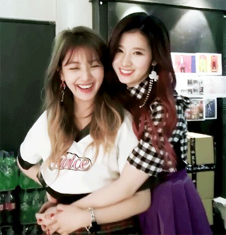 Jihyo & Sana   Twice