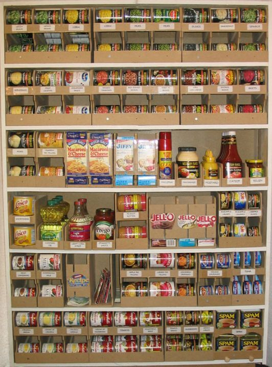 Home Food Storage Organizers