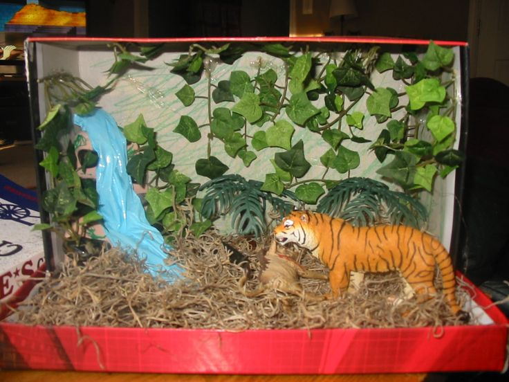 Kids Diorama With Details: Adventures: First Big School Project