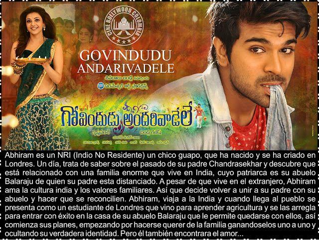 Cine Bollywood Colombia: GOVINDUDU ANDARIVADELE