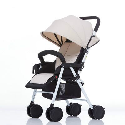 138.00$  Watch here - http://alinl5.worldwells.pw/go.php?t=32732308247 - Baby stroller ultra portable sitting lying shock proof foldable four wheel hand cart BB baby baby car