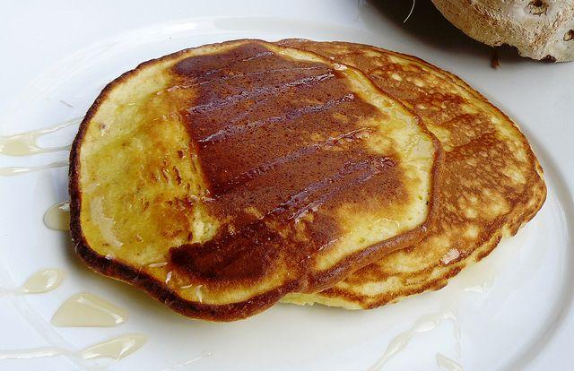 Coconut Almond Pancakes