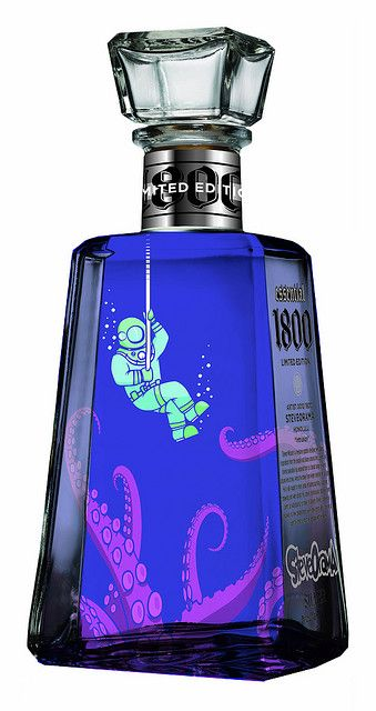Tequila Bottle - I  want this  fantasti spirit!