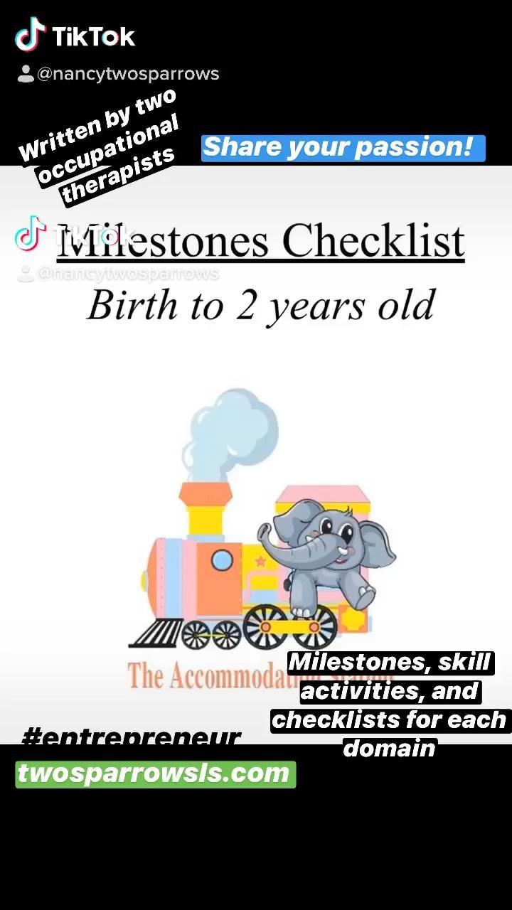Developmental Milestones for your Child [Video ...